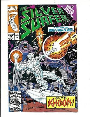 SILVER SURFER Vol.3 # 68 (Infinity War X-Over, LATE JULY 1991), NM