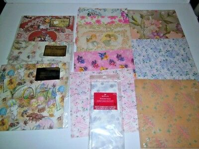 Vintage 1970s|1980's Gift Wrap Paper Assorted Occasions| all unused as shown #2