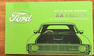 2017 RAM 50 cent UNC Coin Ford classics collection - XA FALCON