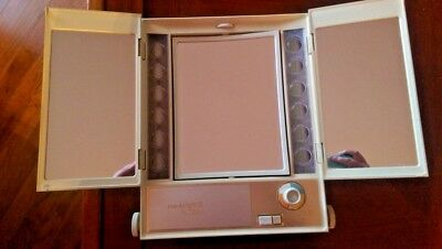 True to Light III - Clairol Vintage Make Up Mirror Four Way with Light Selector