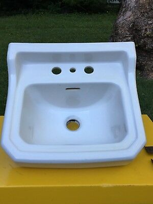 Vintage Gerber Small Beveled Edge Sink 1951 Reclaimed Architectural Salvage