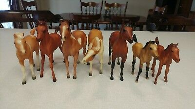 Lot of 7 Breyer Traditional Foals