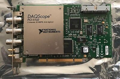 National Instruments PCI-5102 Digitizer Card, NI DAQ Scope