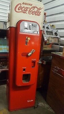 Rare Completely Original Antique Vendo Coca-Cola Machine Model 44