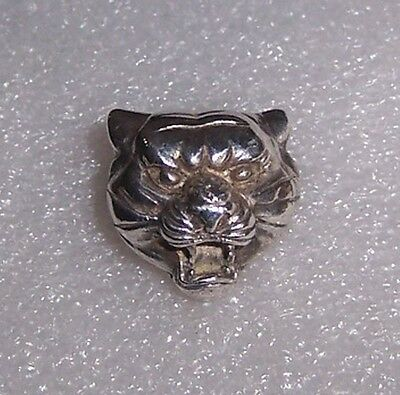 Ancient relic pure silver|the tiger press button 1.8cm