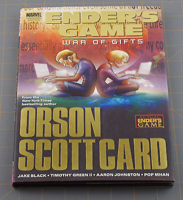 ENDER'S GAME  WAR OF GIFTS Premiere Edition Hard Cover