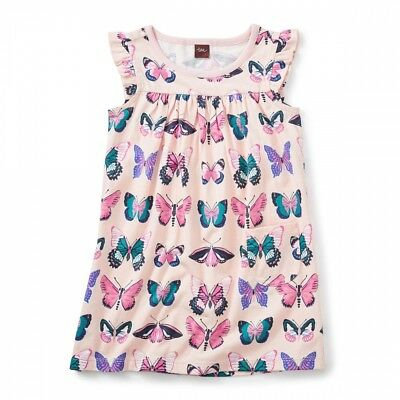 Locals Only Tea Collection Butterfly Mighty Mini Girls Dress 10 12