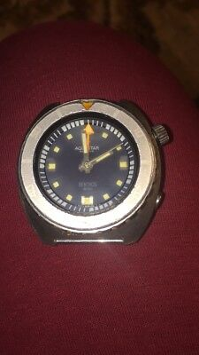 Aquastar Benthos 500 diver watch One Owner Works Great antique hard to find