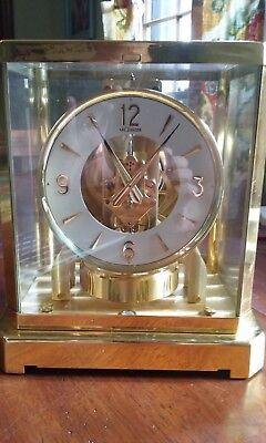 Le Coultre & Cie Atmos Swiss Mantel Clock, 15 Jewels, 528-8