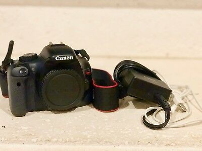 Canon EOS Rebel T2i / EOS 550D 18.0MP DSLR + Battery Charger, Battery, Strap