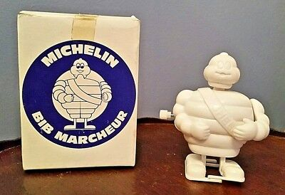 vintage michelin man white knob wind up NEW IN BOX ~ Ray Rohr Cosmic Artiacts
