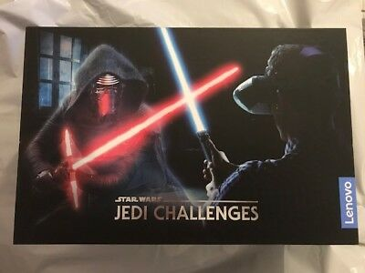 Lenovo - Star Wars: Jedi Challenges AR Headset w/ Lightsaber Controller & Beacon