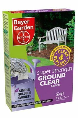 Bayer Super Strength Ground Clear Weedkiller 12 Sachet - 84486035