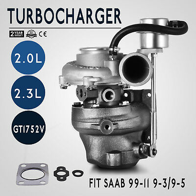 Turbocharger GT1752S 452204 5955703 9172123 SAAB 9-3 9-5 B205E B235E Safe