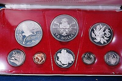 1974 Cayman Island Proof Set