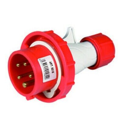 SCAME SPINA PRESA VOLANTE ROSSA INDUSTRIALE 3P+N+T 16A 6H IP67 COD 2161637