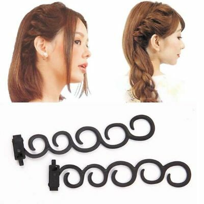 Styling DIY Weave Hair Magic 2 Pcs Braid Tools Twist Accessories Random Color