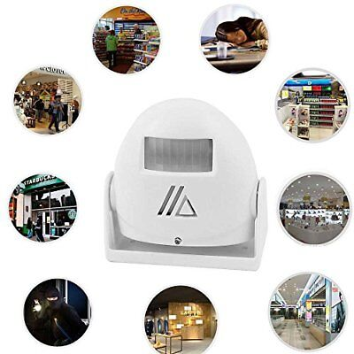 Wireless Home Motion Sensor Door Bell Visitor Alert Chime Welcome Alarm Bell NEW