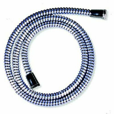 Croydex Reinforced PVC Shower Hose 1.5m Chrome -