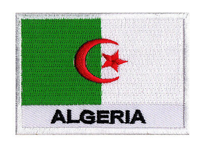patch badge badge patch algeria Algeria 70x45mm embroidered sew-on