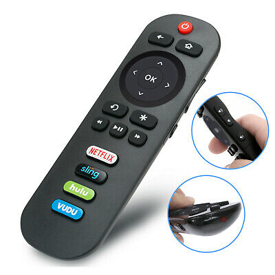 New RC280 Remote Control for TCL ROKU TV 32S3800 43S303 55FS3750 w Hulu Vudu Key