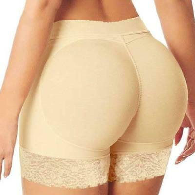 HOT Padded Bum Pants Enhancer Shaper Butt Lifter Booty Boyshorts Underwear UK