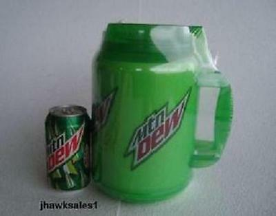 64 Ounce Mtn Dew Insulated Mug With  Lid & Straw  *(New)