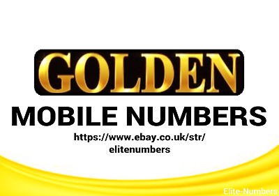 Easy Memorable Gold Mobile Numbers O2 Vodafone Ee Three Lebara Pay As You Go Sim