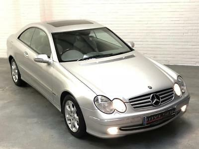 mercedes clk 270 cdi coupe 2004 brilliant silver f s history full mot 1 picclick uk. Black Bedroom Furniture Sets. Home Design Ideas
