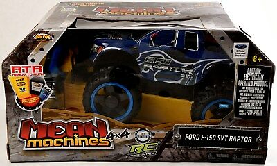 RC Remote Control Truck - Ford F150 SVT Raptor 4x4 - NKOK Mean Machines 1:10 toy