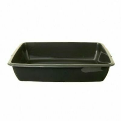Whitefurze 42cm Cat Litter Tray Assorted-P0301