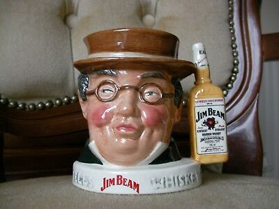 Royal Doulton Character Toby Jug - Mr Pickwick - Limited Edition Jim Beam - MINT