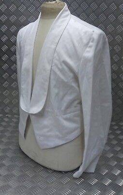 Genuine British Royal Navy No2BW Officers Mess Dress White Jacket BRNC Non BRNC