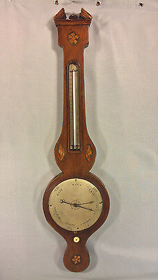 Antique Rabone Weather Station Barometer w/ Glass Tubes Early 1800s? London Eng