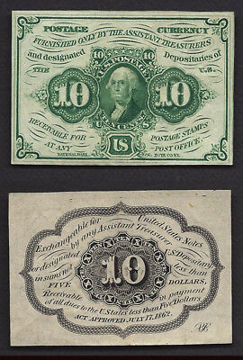 10 Cent FRACTIONAL==1st ISSUE==Fr. 1242==AU