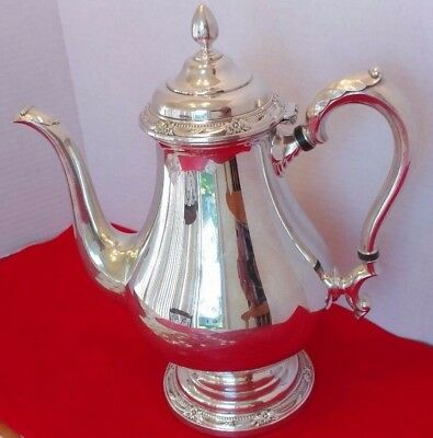 Silver Plated Coffee Pot  By Roger & Sons Remembrance 1847