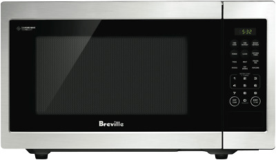 NEW Breville LMO525BSS 23L Flatbed Microwave Oven