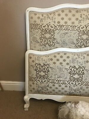 Lovely Antique Double French Bed