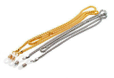 Rainbow Eyeglass Cord Sunglass Holder Glasses Chain / RC01-SILVER/GOLD