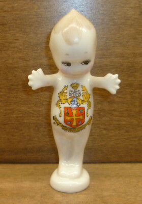 Antique Crested Ware Kewpie Figurine Wolverhampton Willow Art Rather Than Goss