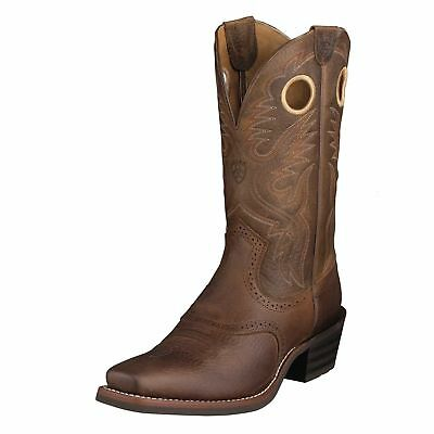 Ariat 10002227 Men's Heritage Roughstock - Cutter Square Toe - Oiled Rowdy