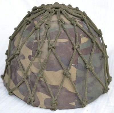 Us M1 Comat Helmet With Camouflage Cover & Net Used By Mexican Force Mexico Camo