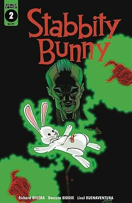 Stabbity Bunny #2 Cover A 1st Print Scout Comics 2/7/18