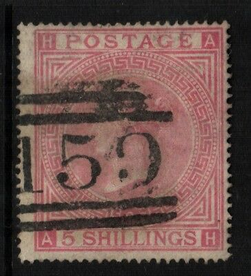 ~ Great Britain, Used, 57, Plate 2, Nice Centering