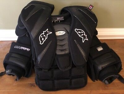 Brians Subzero Pro Ice Hockey Goalie Chest Protector Size Senior