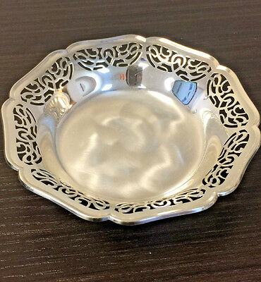 Vintage WMF IKORA GERMANY Silver Plated Tri-Footed Bowl
