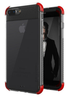 iPhone 8 Plus / 7 Plus Case | Ghostek COVERT2 Clear Silicone Protective Cover
