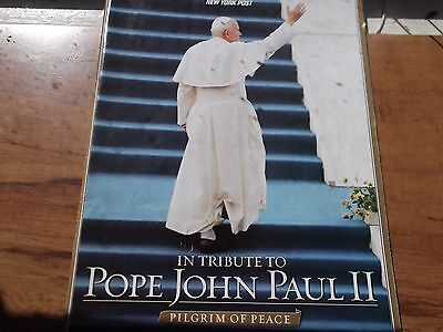 In Tribute to Pope John Paul II Magazine by NY Post papal visit