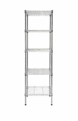 Finnhomy Heavy Duty 5 Tier Wire Shelving Unit NSF CERTIFIED 5 Shelves S... , New