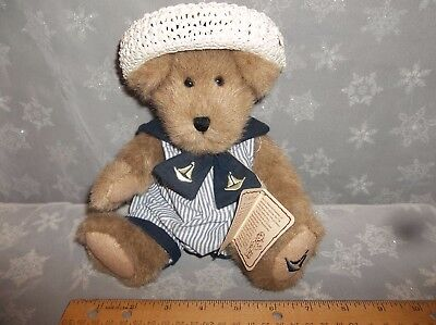 Boyd's Bears TJ's Best Dressed Collection Marina Yachtley Ready for Sailing
